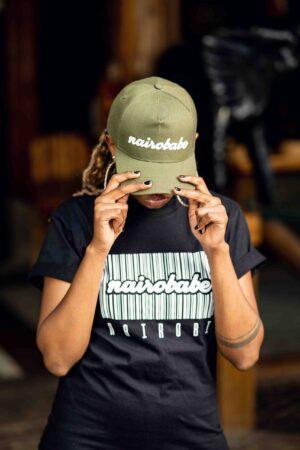 nairobabe jungle green cap