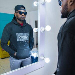naiboss barcode hoodie