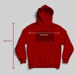 hoodie measurements