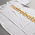 gold vertical nairobabe logo