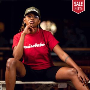 Nairobi t-shirt brands - nairobabe